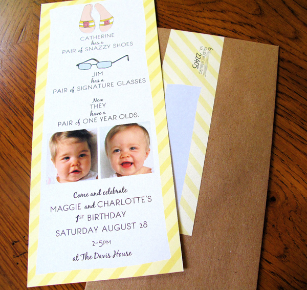 First Birthday Invitations Design Editor