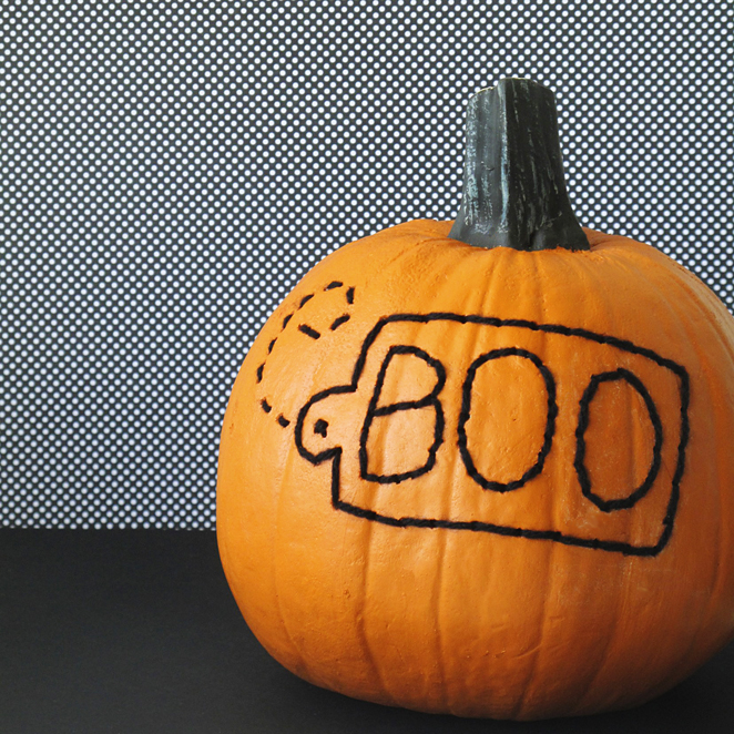 Embroidered+pumpkin