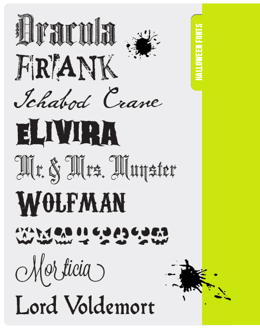 FONT FRIDAY | Free Halloween Fonts, Part Two - Design Editor