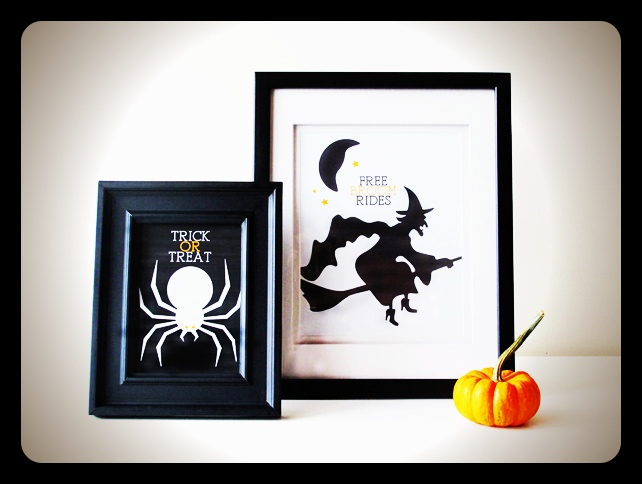 Printable Halloween prints
